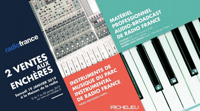 Radio France Vente Encheres 01
