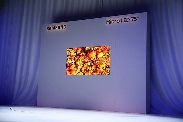Samsung MicroLED CES 2019 2