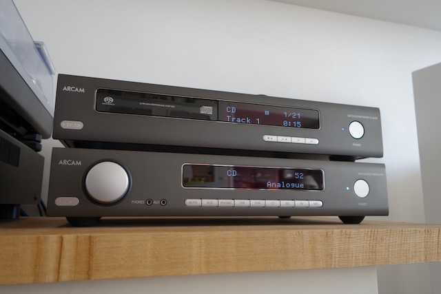 Arcam SA20 CDS50 test ONmagFR