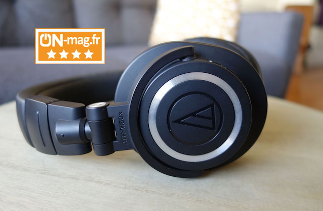 Audio technica ATH M50xBT test ONmagFR