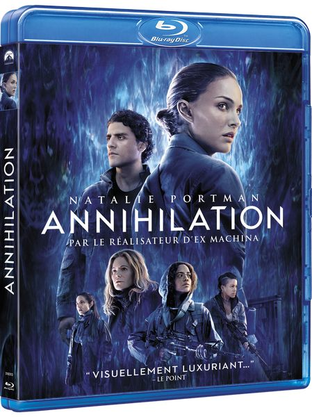 Blu ray Annihilation