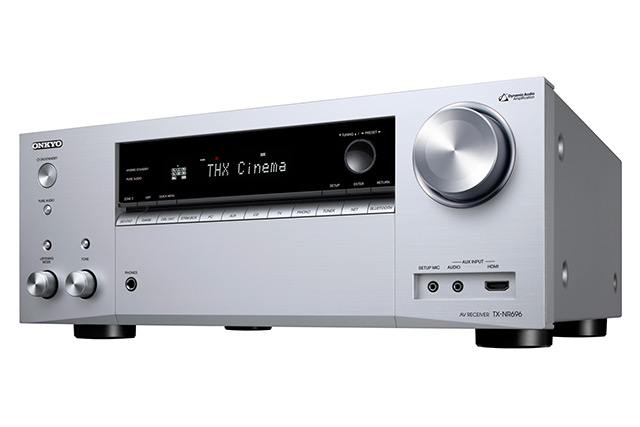 Onkyo TX-NR696 : ampli home cinema 5.2.2 certifié THX Select2, avec double DAC et Works with Sonos