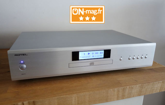 Rotel CD11 test ONmagFR