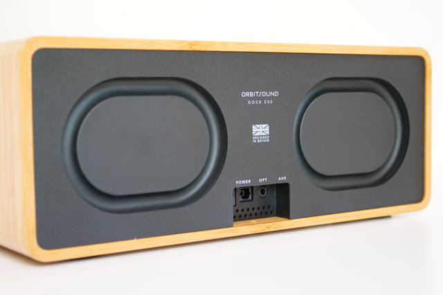 orbitsound dock e30 sub s4 arriere