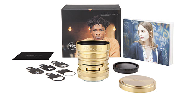 Lomography Petzval55 packaging