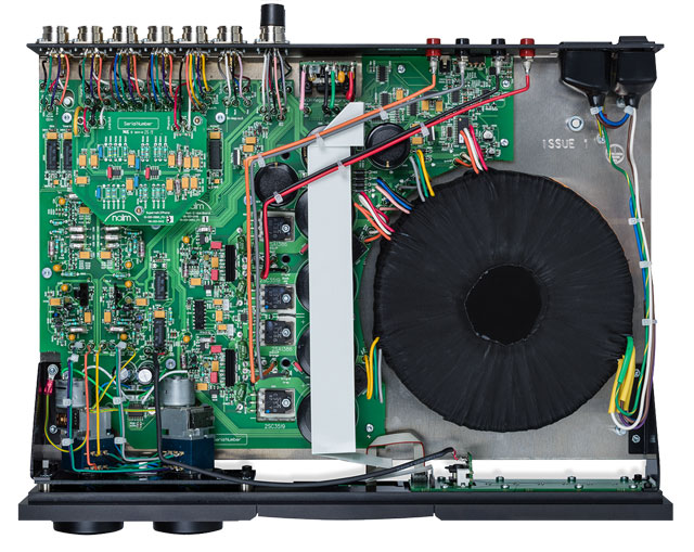 Naim Supernait 3 inside