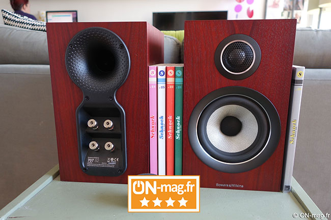 Bowers Wilkins 707 S2 TEST by OnMagFR