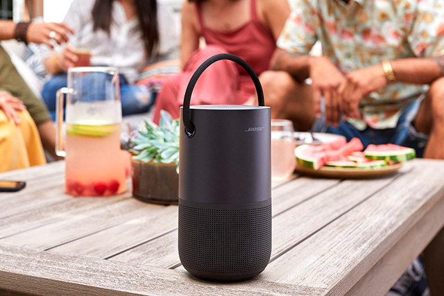 Bose Portable Home Speaker : une enceinte portable mixte Bluetooth/WiFi face à la Sonos Move