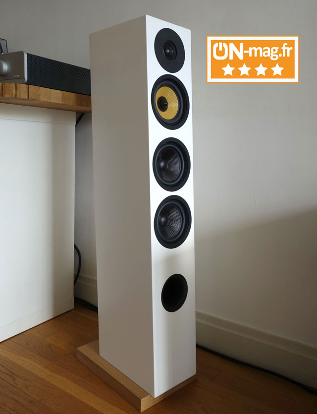 Davis Acoustics Courbet No5 test ONmagFR