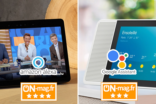 Match Amazon Echo Show vs Lenovo Smart Display : quel écran vocal et domotique pour la maison ?