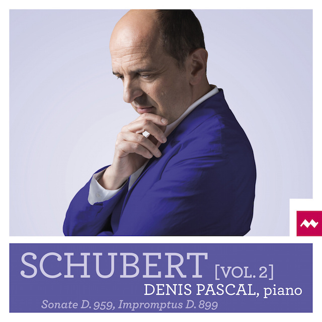 CD : Denis Pascal joue Schubert