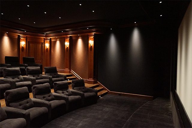 home cinema JBL M2 fauteuils