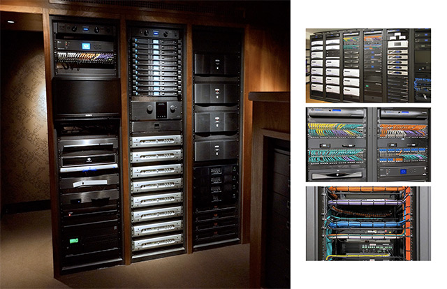home cinema JBL M2 racks