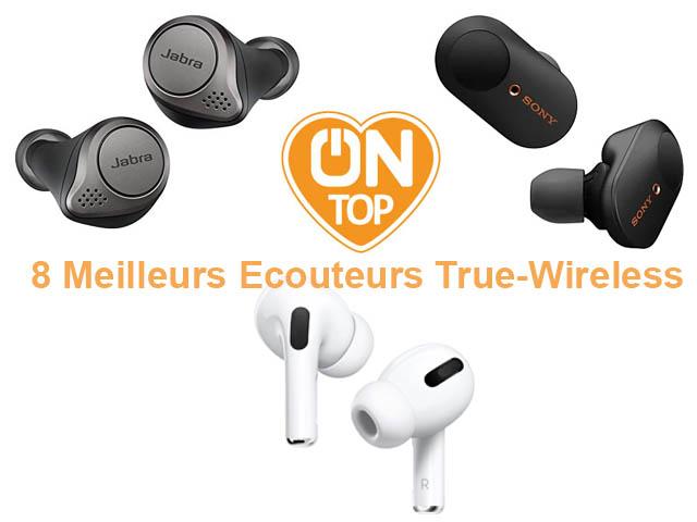 Meilleurs écouteurs True Wireless : tests, sélection et