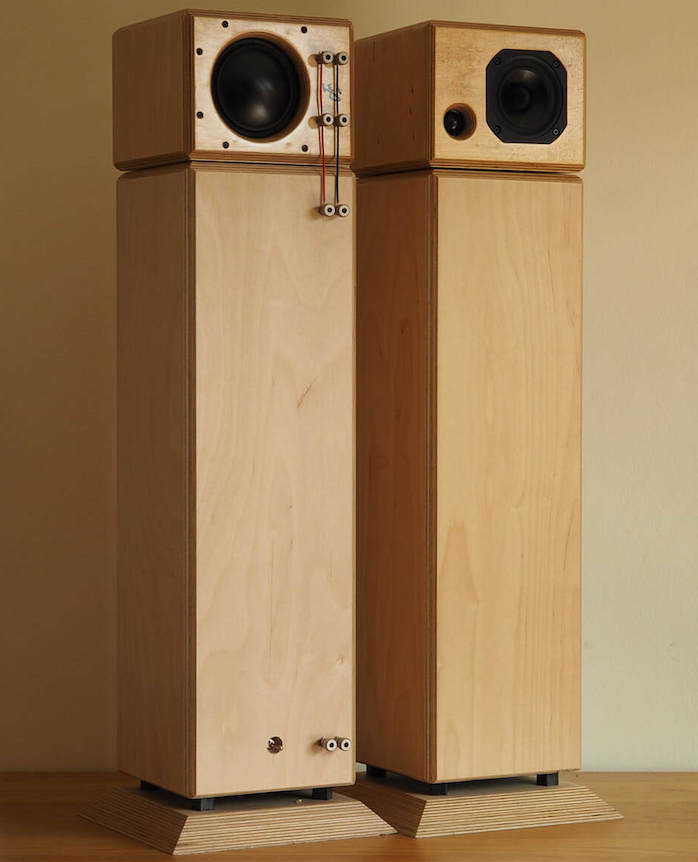 Microphase enceinte artisanale audiophile colonne kit