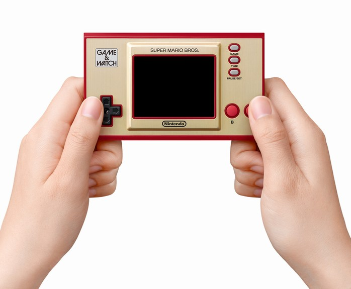Nintendo game watch super mario bros 2020 mains