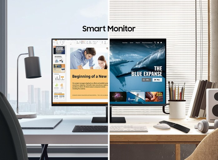 Samsung Smart Monitor M7 M5 division