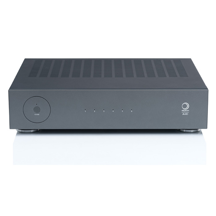 Ampli 6 canaux Elipson A680 pour de multiples enceintes et de multiples applications en multiroom ou multicanal