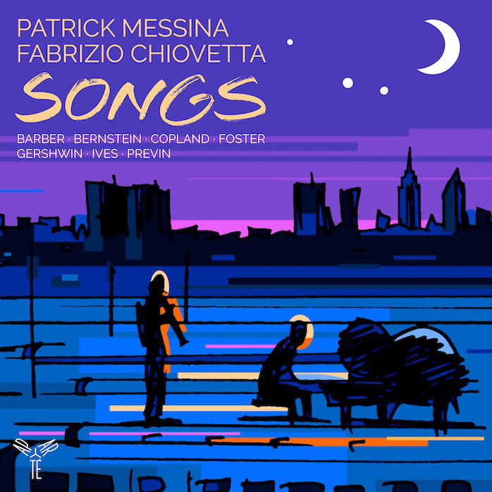CD : Songs of America pour clarinette et piano