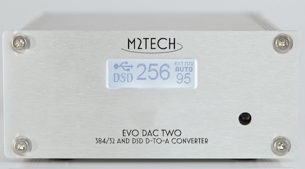 M2Tech Evo DAC Two face