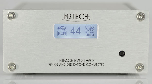 M2Tech HiFace Evo Two front